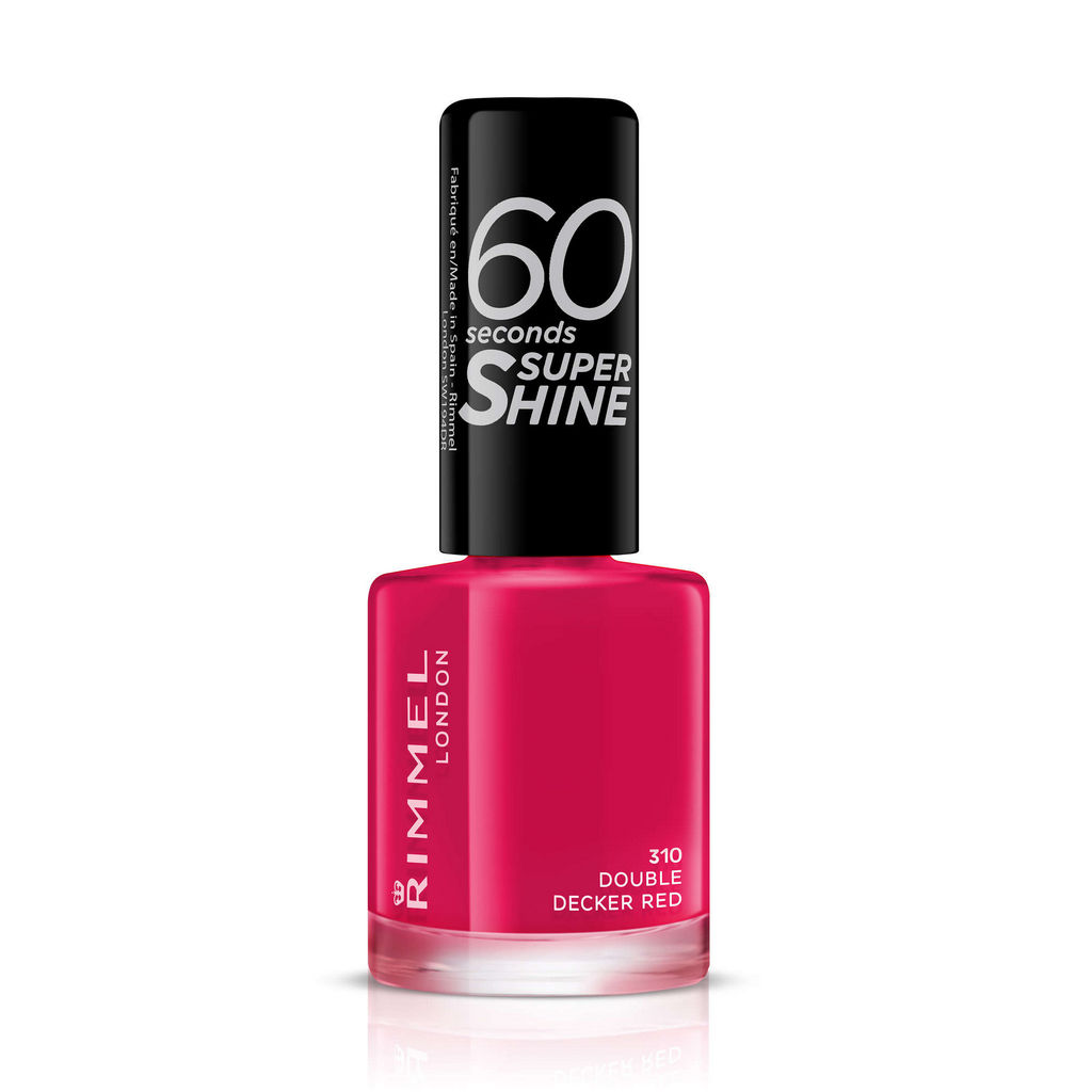Lak za nohte Rimmel, 60sec – 310 Double decker red