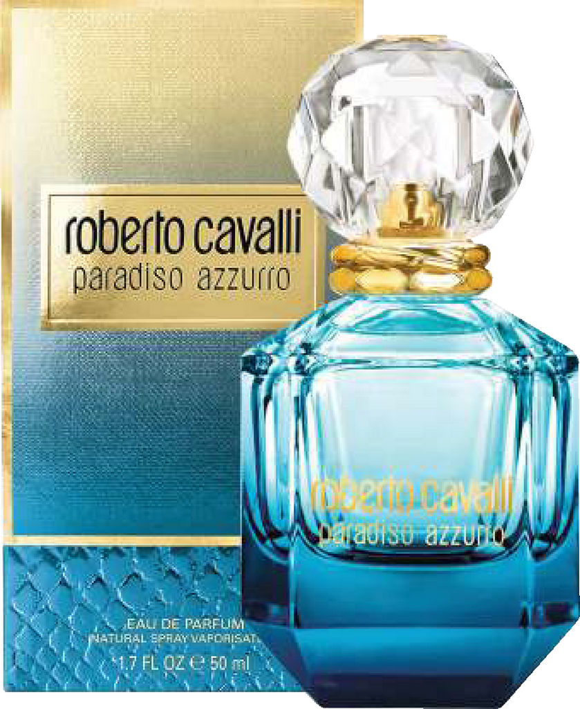 Parfumska voda Roberto Cavalli, Paradiso Azzurro, ženska, 50ml