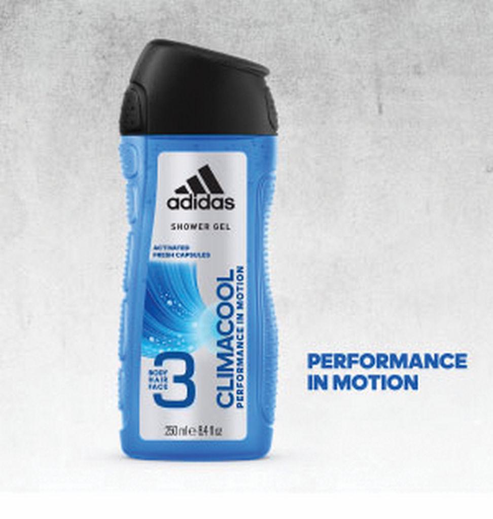 Gel za prhanje Adidas, Climacool moški, 250ml