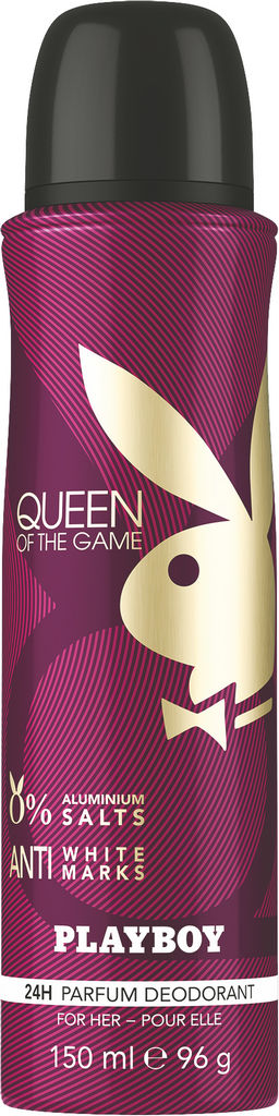 Dezodorant Playboy, Queen, ženski, 150ml