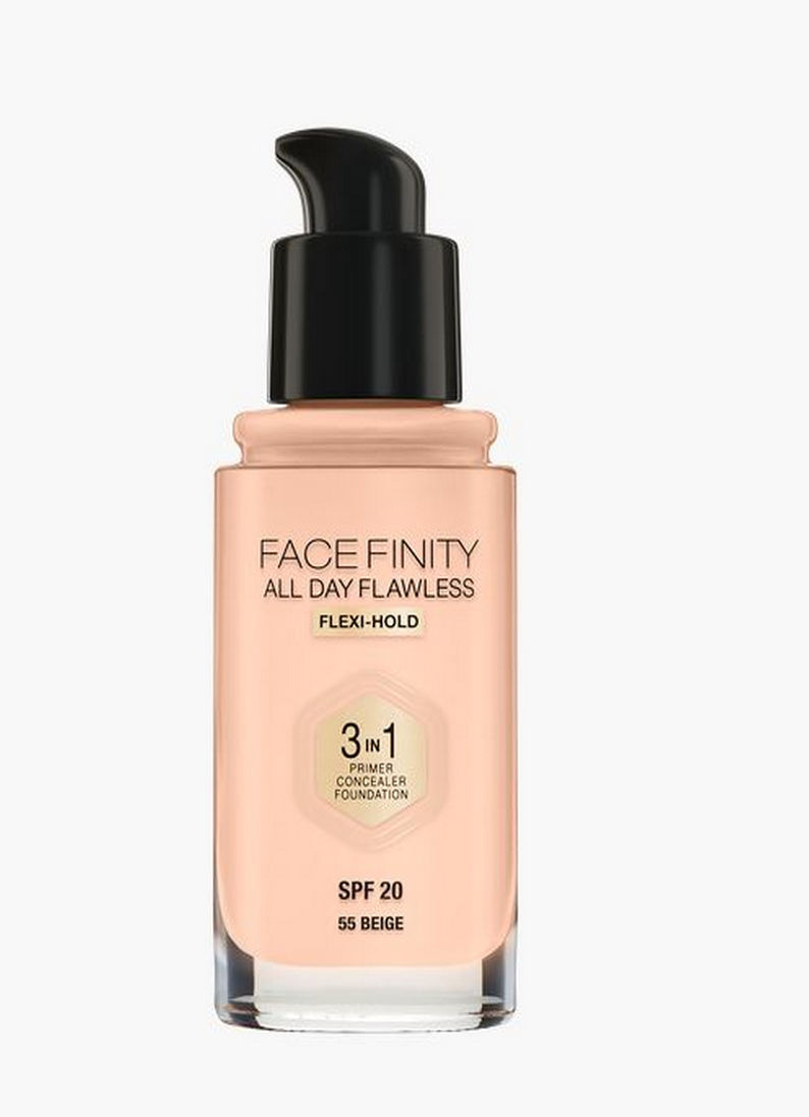 Puder tekoči, Max Factor, Face Finity 3v1, beige 55, 30ml