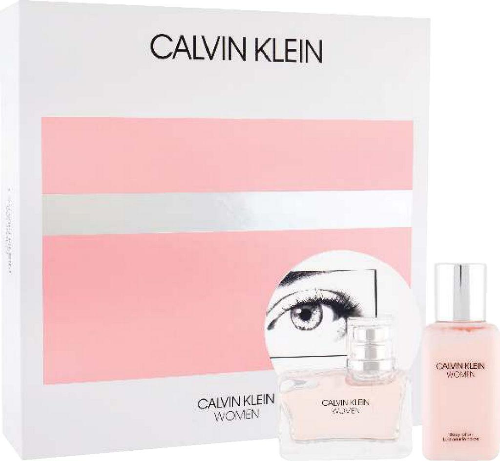 Darilni set Calvin Klein, Woman, toaletna voda 50ml + losion 100ml