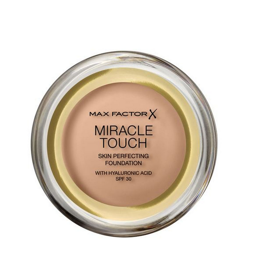 Puder Max Factor Miracle touch foundation, 75 golden