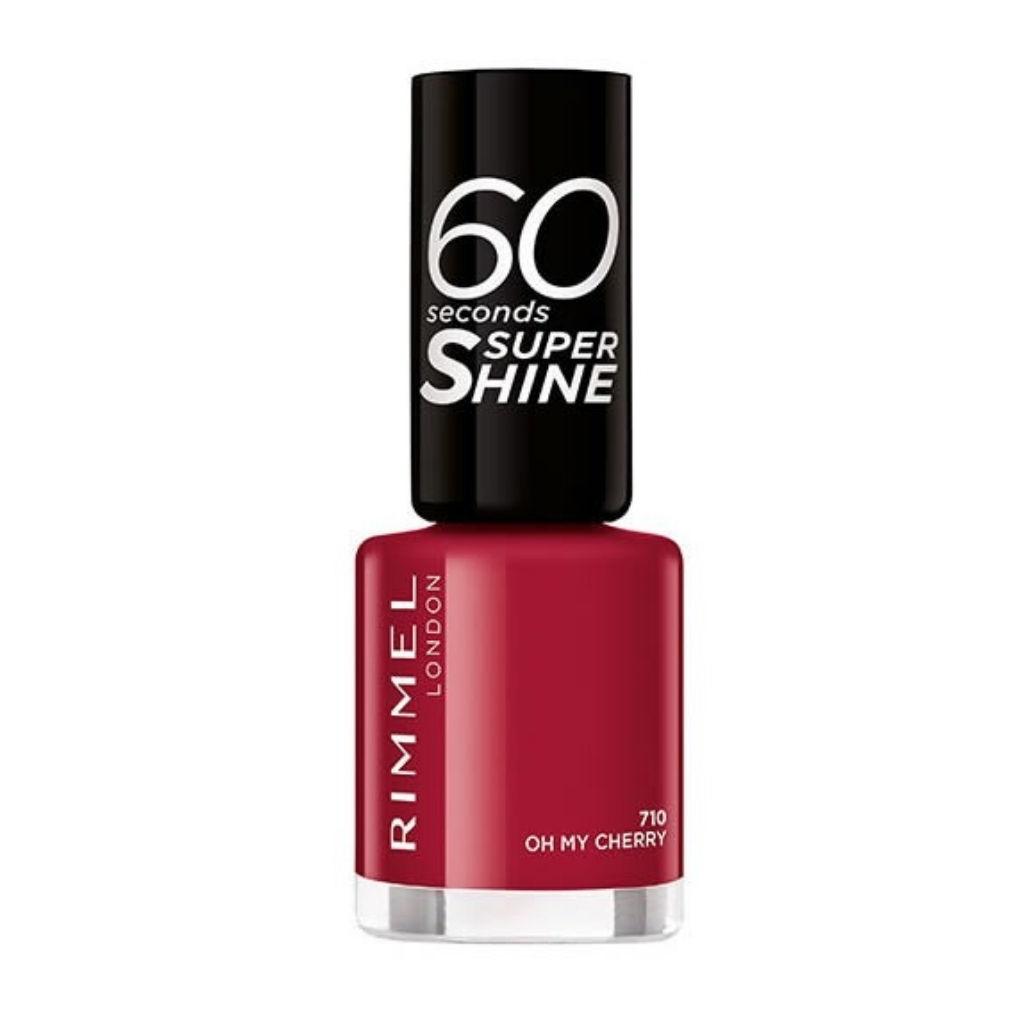 Lak za nohte Rimmel, 60sec – 710 nail polish, Oh my cherry