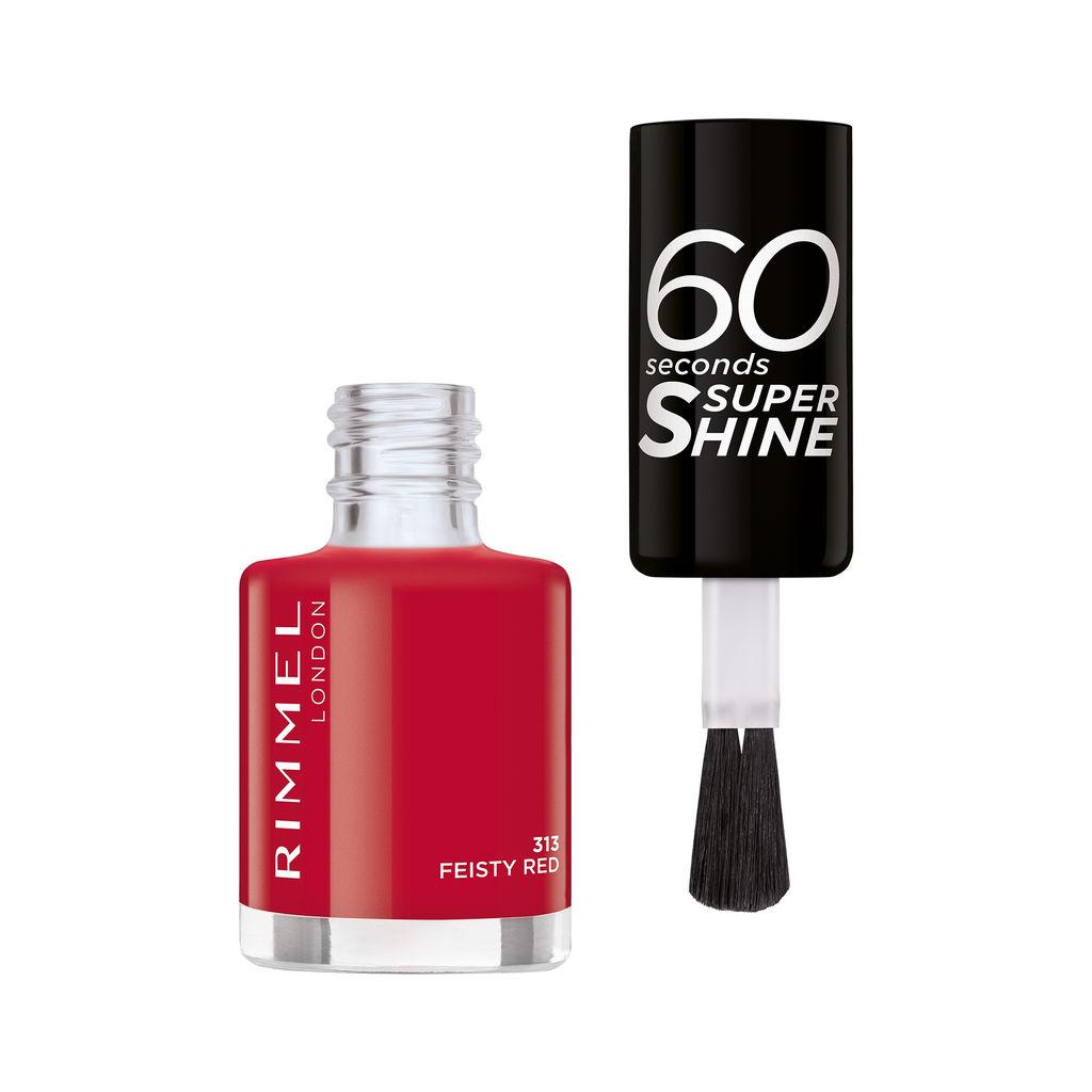 Lak za nohte Rimmel, 60sec – 313, fiesty red