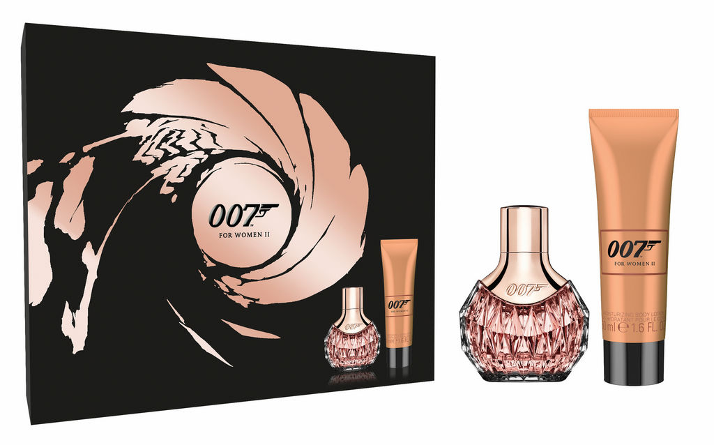 Darilni set James Bond 007, For woman II, parfumska voda 30 ml + losjon za telo 50 ml