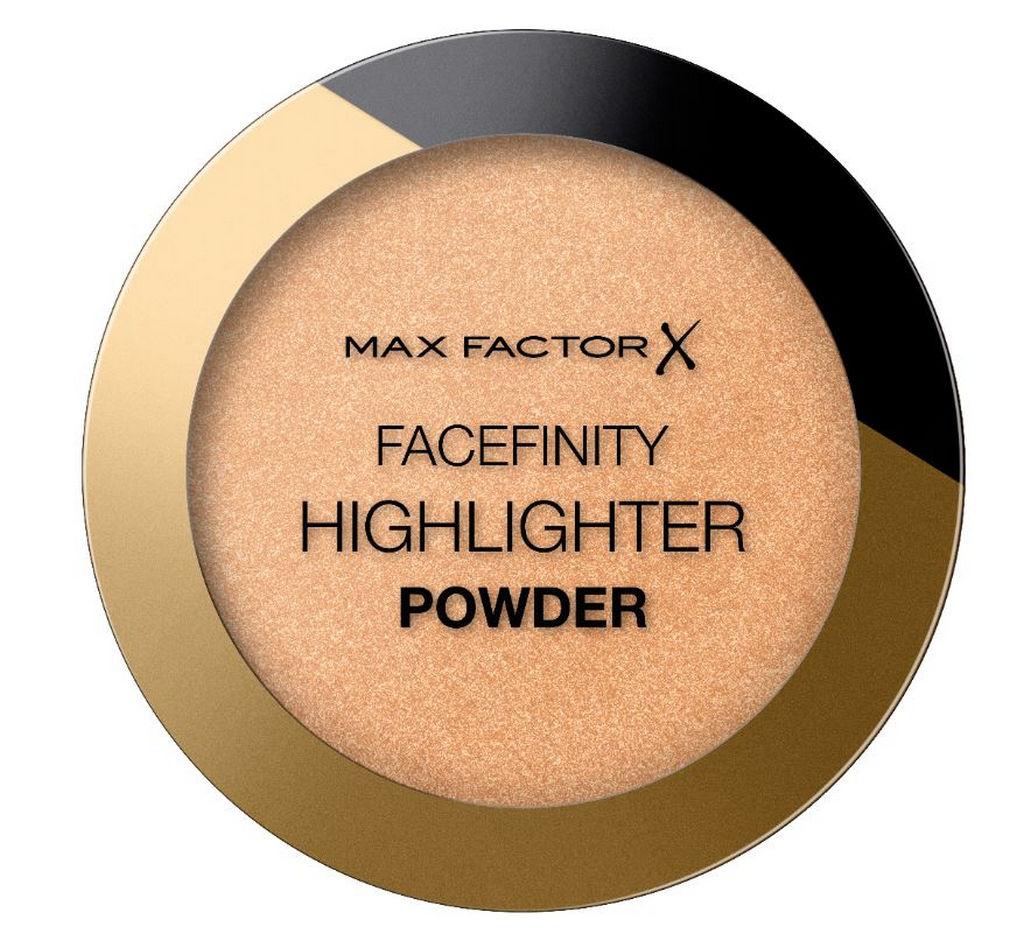 Puder Max Factor  Facefinity Power,  osvetljevalec 03 Bronze Glow