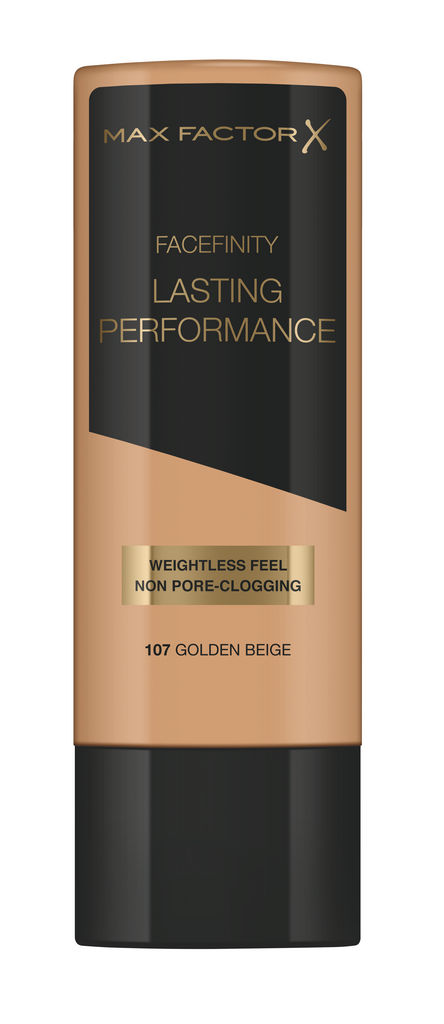 Puder Max Factor, Lasting Performance Foundation, 107 Gold beige