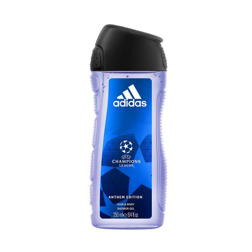 Gel za prhanje Adidas Uefa N°7, moški, 250 ml