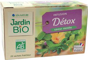 Čaj Jardin Bio Infusion Detox zeliščni, 30g