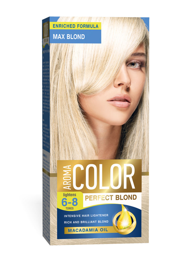 Barva za lase Aroma Color 6-8 max blond, 45ml
