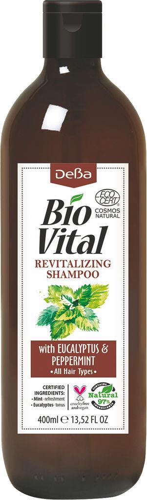 Šampon za lase BioVital, poživlajoč, 400 ml