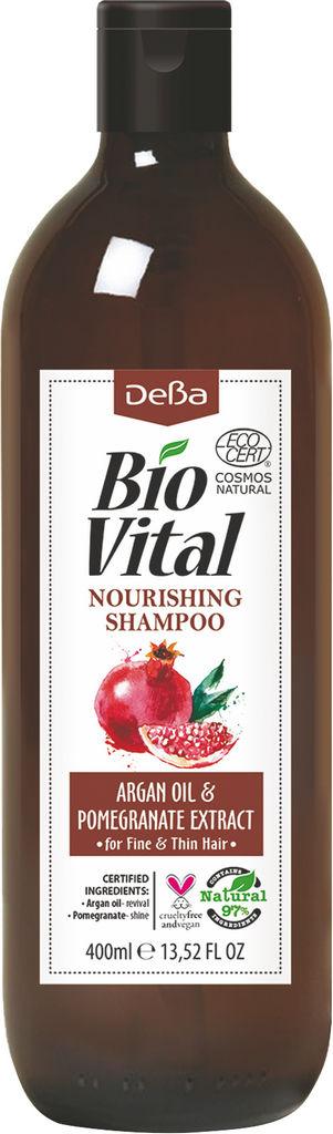 Šampon za lase BioVital, negovalni, 400 ml