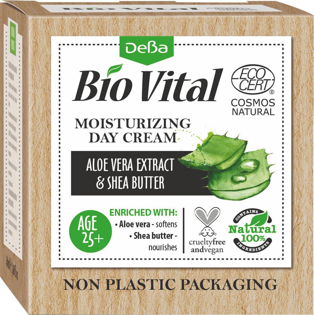Krema za obraz Bio Vital, vlažilna dnevna za vse tipe kože, 50 ml