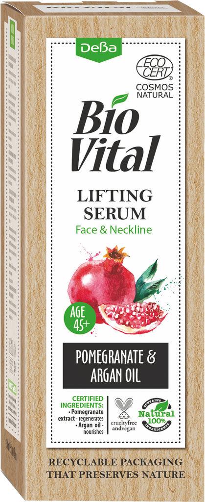 Lifting serum Biovital, obraz in dekolte 45+, 30 ml
