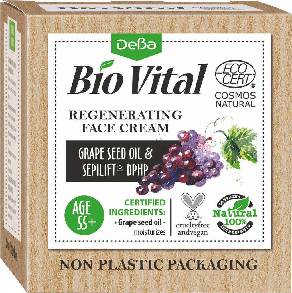 Krema za obraz Bio Vital, obnovitvena za zrelo kožo, 50 ml
