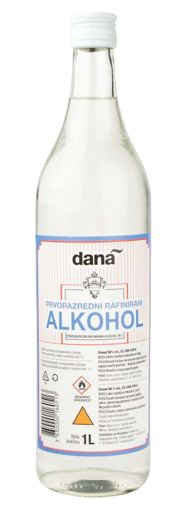 Alkohol rafinirani, alk.96 vol%, 1l