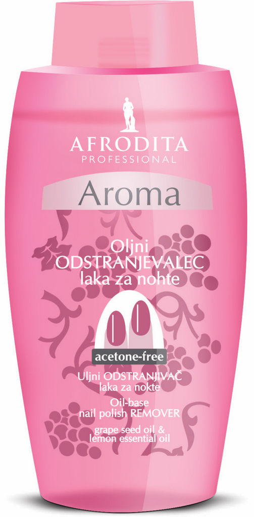 Odstranjevalec laka  za nohte Afrodita, Aroma oljni, 125 ml