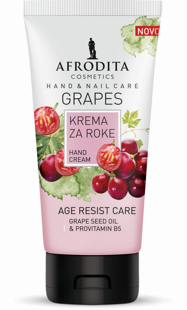 Krema za roke Afrodita, Anti-age Grapes, 75 ml