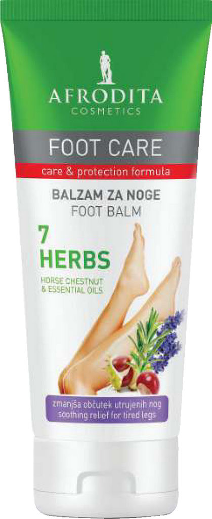 Balzam za noge Afrodita, Foot Care 7 Herbs, 100 ml