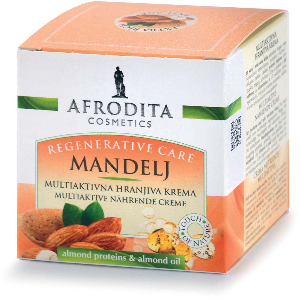 Krema Afrodita, Mandelj Hranljiva, 50 ml