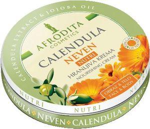 Krema Afrodita, Calendula Nutri hranljiva z ognjičem, 150 ml