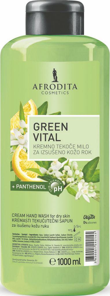 Milo tekoče Afrodita, Green vital, 1 l