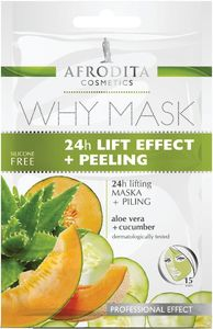 Maska Afrodita, WHY MASK 24h lift+peeling, 2 x 6 ml
