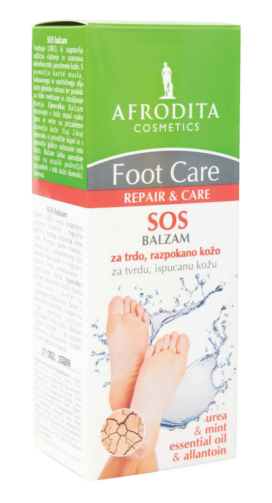 Balzam za noge Afrodita, Foot Care SOS, 50 ml
