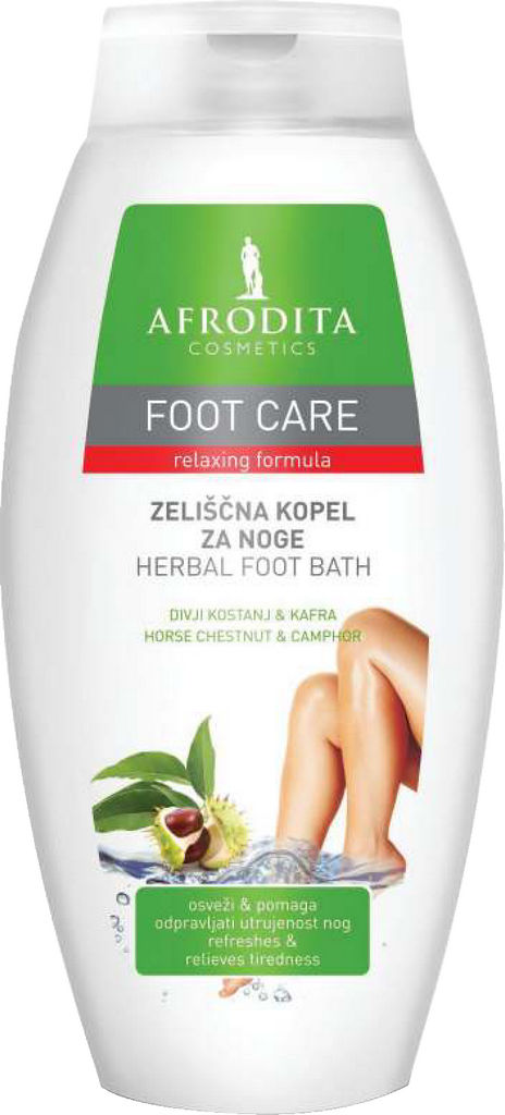 Kopel za noge Fresh&Clean zeliščna, 250ml