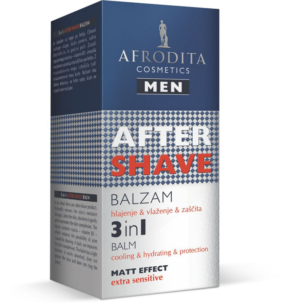 Balzam After shave moški, 3 v 1 Balm, 50ml