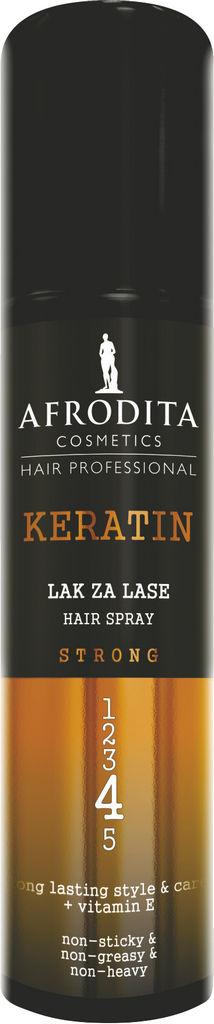 Lak za lase Afrodita s keratinom, 200 ml