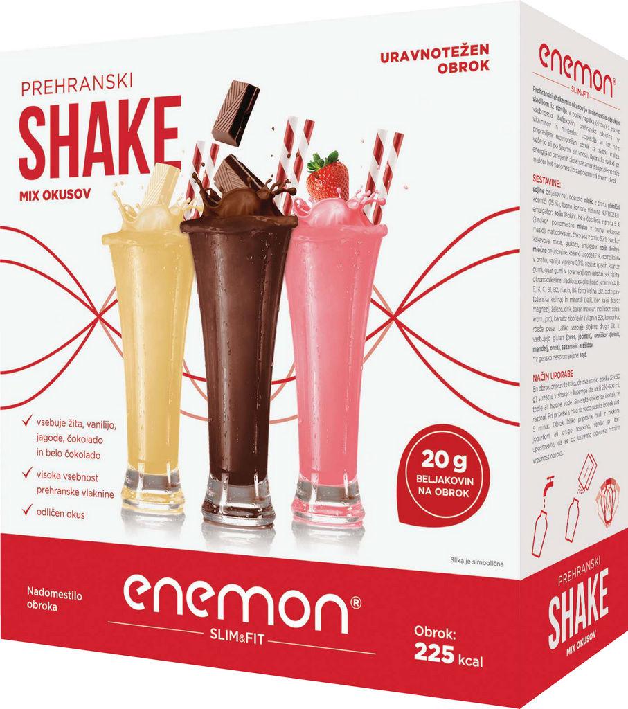 Shake Enemon Slim&Fit Mix, 360g
