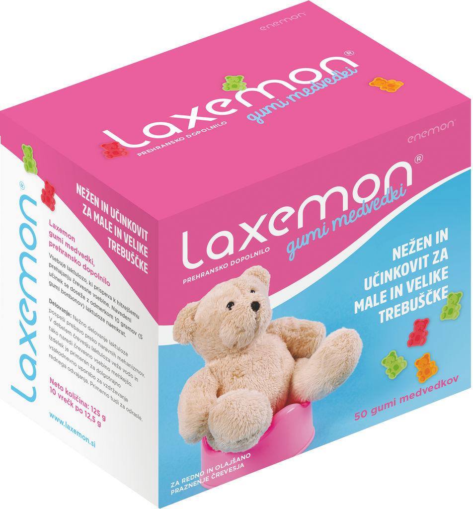 Prehransko dopolnilo, Laxemon bonbon medvedki, 125g