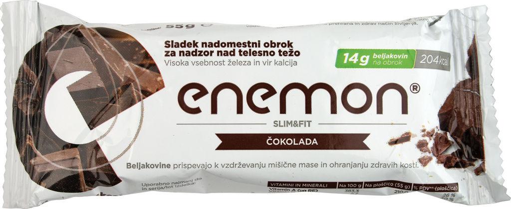 Ploščica Enemon čokoladna, 55g