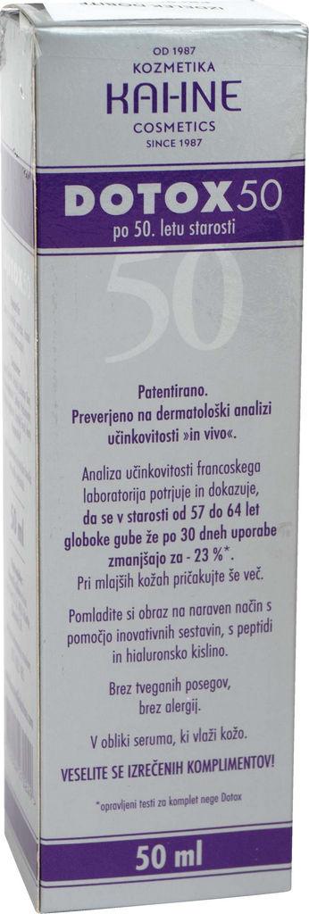 Krema Kahne, Dotox 50, 50 ml
