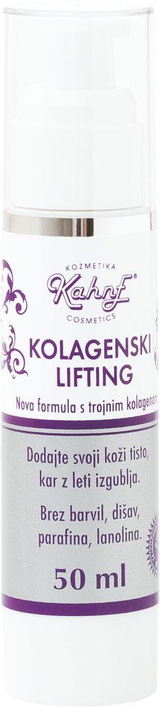 Krema za obraz Kahne, Kolagenski lifting, 50 ml
