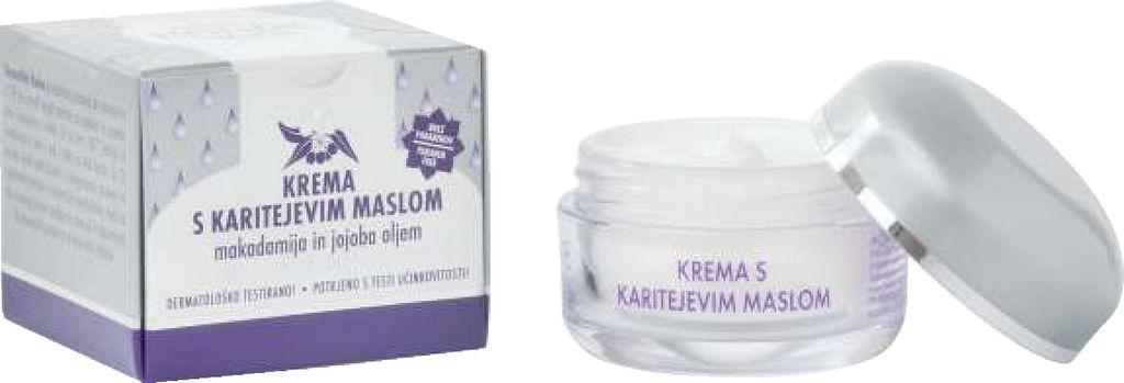 Krema Kahne, s karitejevim maslom, 50 ml