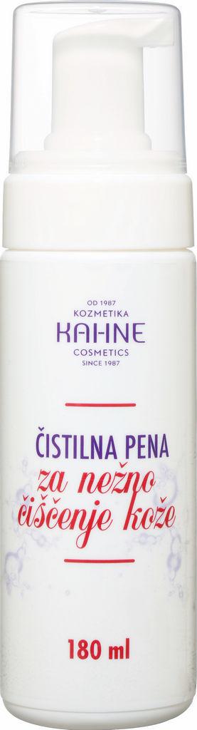 Pena čistilna za obraz Kahne, piling učinek, 180 ml