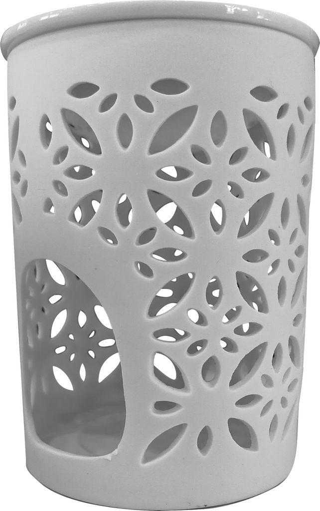 Izparilnik Luxuri, velik, rože porcelan