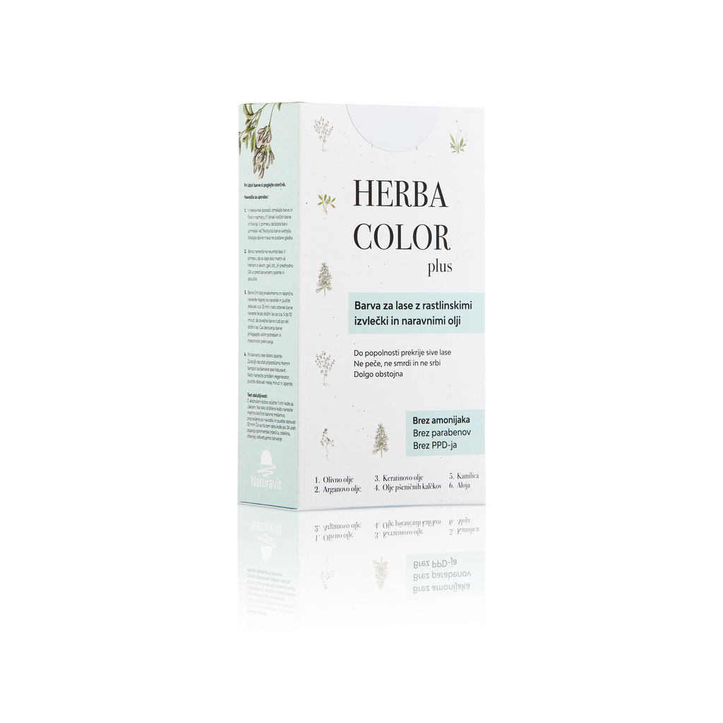 Barva za lase Herba c., svetlo pepelnato blond, 8C