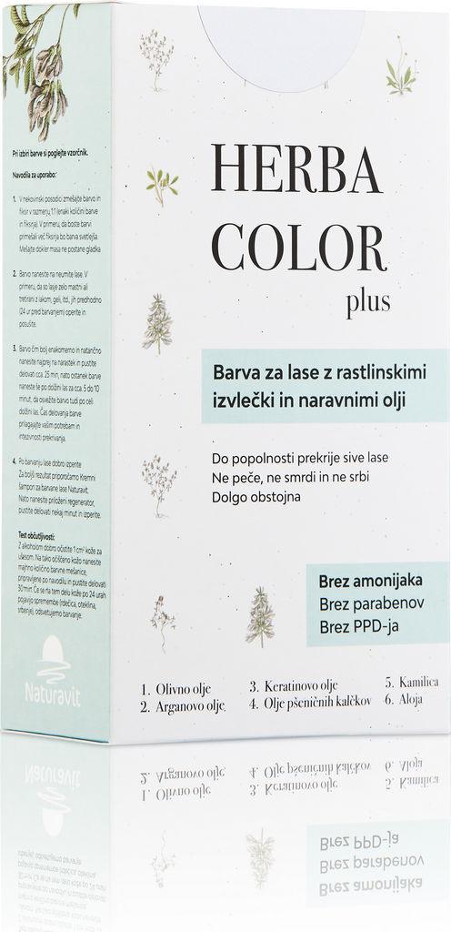 Barva za lase Herba c., mahagoni kostanjeva, 4MV