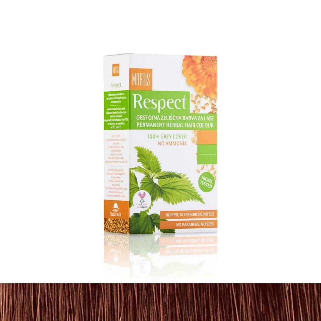 Barva za lase Respect 06 lešnikovo rjava