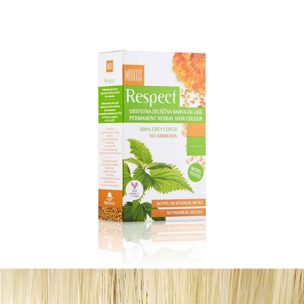 Barva za lase Respect 11 platinasto blond