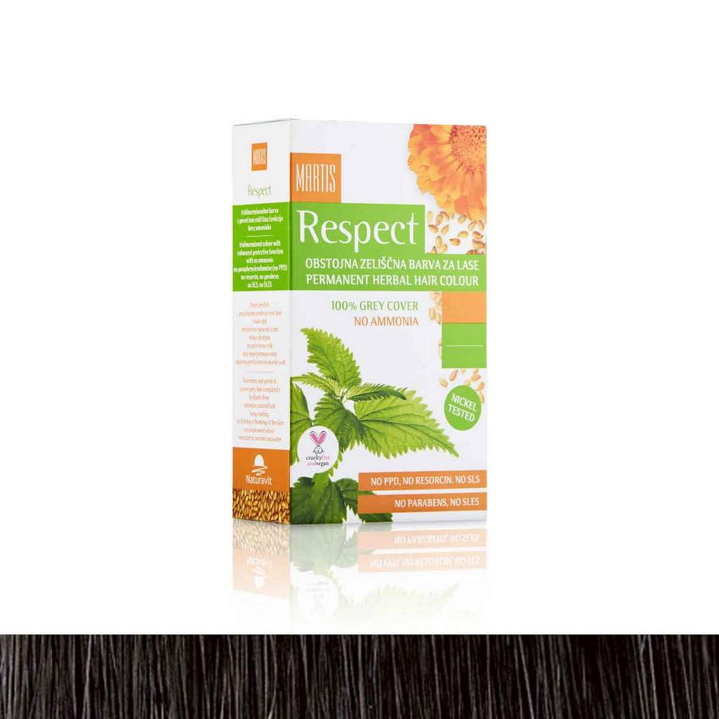 Barva za lase Respect 04, rjava
