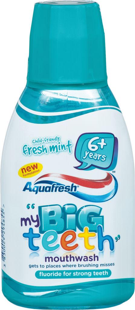 Ustna voda Aquafr., otr., Sparkl.fr.mint