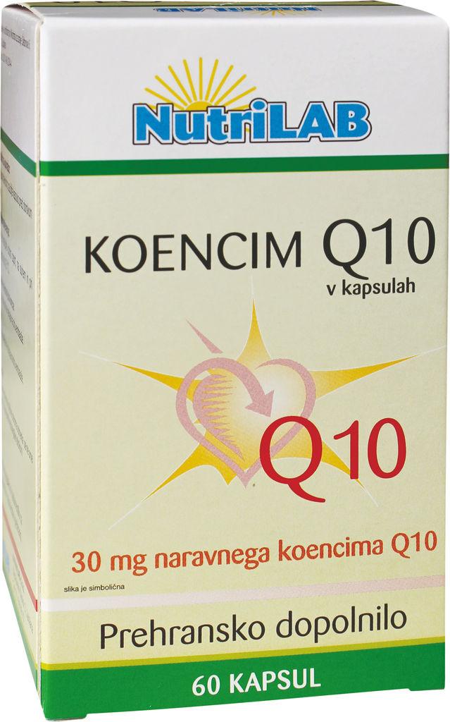 Preh.dop. Nutri Q10, 60 kapsul