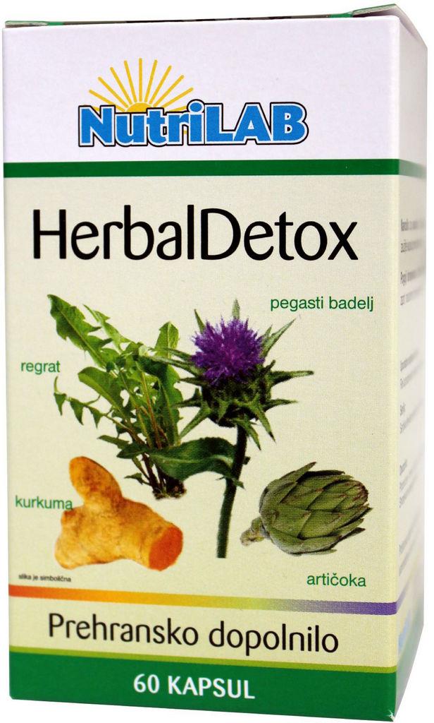 Prehransko dopolnilo, Herbal detox