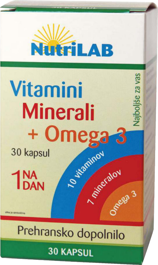 Vitamini, minerali, +omega 3