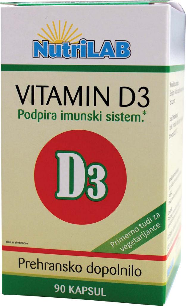 Prehransko dopolnilo, Vitamin D